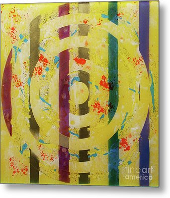 Party- Bullseye 1 Metal Print by Mordecai Colodner