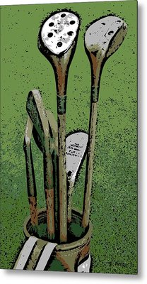 Pass Me The Hickory Metal Print by George Pedro