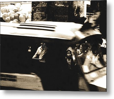 Passing  By Metal Print