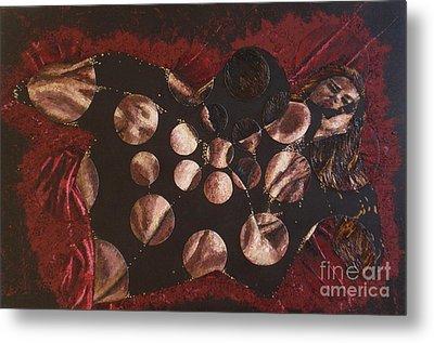 Passion Explosion II Metal Print by Tatjana Popovska