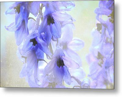 Passion For Flowers. Blue Dreams Metal Print by Jenny Rainbow