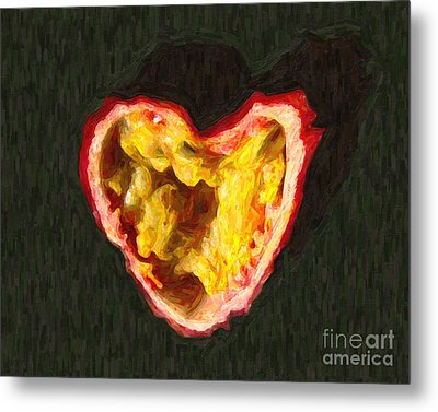Passion Fruit Metal Print by Wingsdomain Art and Photography