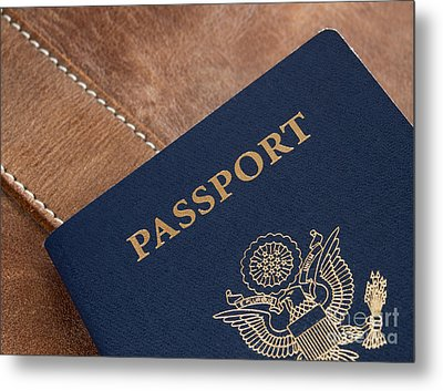 Passport Metal Print by Blink Images