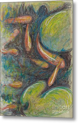Pastel Fish Metal Print by Michele Hollister - for Nancy Asbell