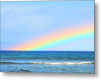 Pastel Rainbow Metal Print