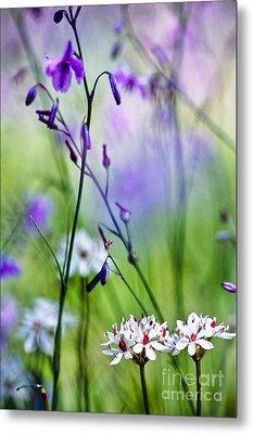 Pastel Wildflowers Metal Print