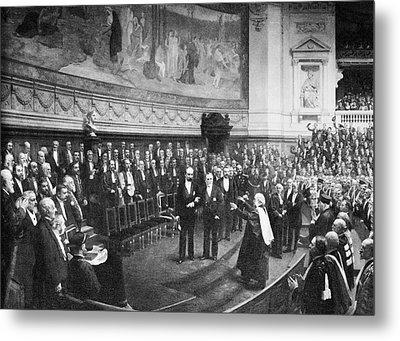 Pasteur's Jubilee Celebrations, 1892 Metal Print by