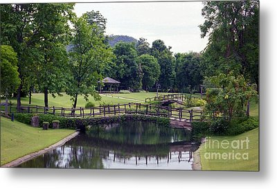 Metal Print featuring the photograph Pastoral Thailand by Craig Wood