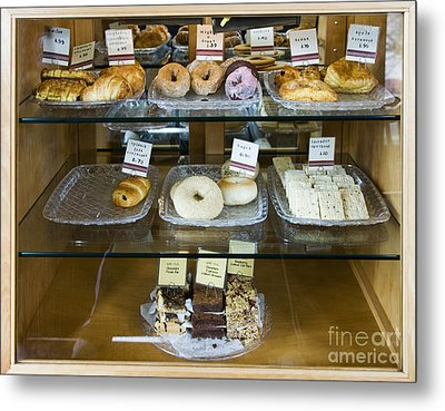 Pastry Items For Sale Metal Print by Andersen Ross