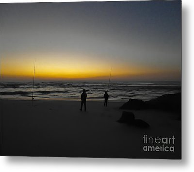 Patience Metal Print by Nabucodonosor Perez
