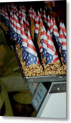 Patriotic Treats Virginia City Nevada Metal Print by LeeAnn McLaneGoetz McLaneGoetzStudioLLCcom