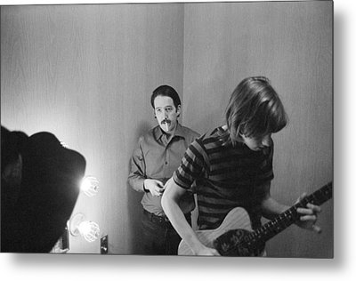 Paul Butterfield And Buzzy Feiten Fillmore East 1968 Metal Print