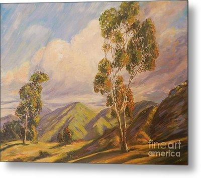 Paul Grimm California Impressionism Metal Print by Sunanda Chatterjee