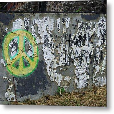 Peace 2012 #1 Metal Print by Todd Sherlock
