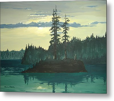 Peace And Quiet Metal Print by Norm Starks