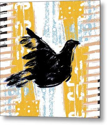 Peace Dove 1 Metal Print