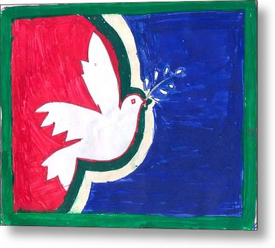 Peace In The Master Piece Metal Print
