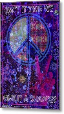 Peace Metal Print by John Goldacker