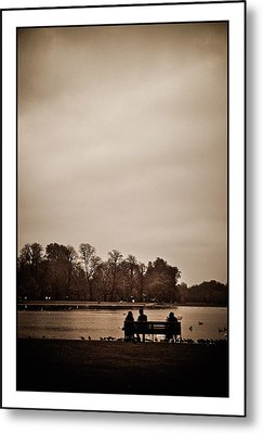 Metal Print featuring the photograph Peace by Lenny Carter