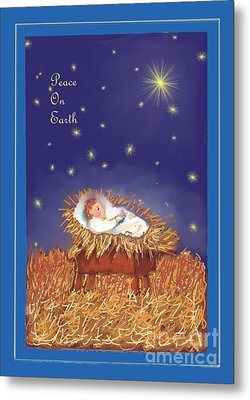 Peace On Earth Metal Print by Dessie Durham