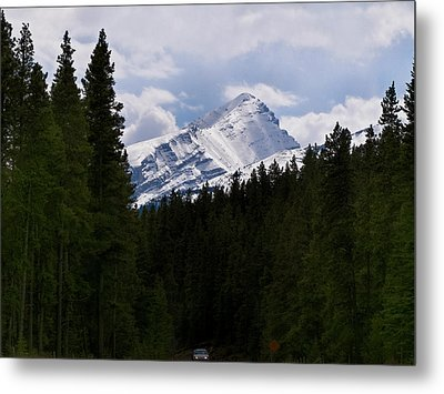 Peaking Peak Metal Print by Roderick Bley