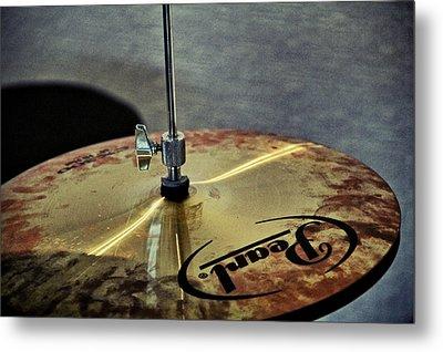 Pearl Hi Hat Metal Print