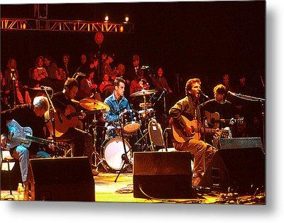 Pearl Jam Bridge Benefit Metal Print by Stephen Miner