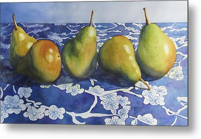 Pears Metal Print by Daydre Hamilton