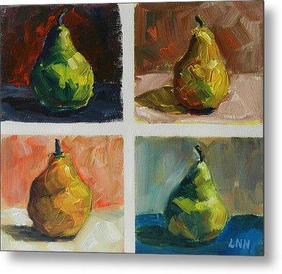 Pears,peru Impression Metal Print