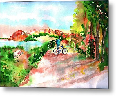 Peavine Trail Prescott Arizona Metal Print by Sharon Mick