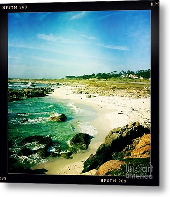 Metal Print featuring the photograph Pebble Beach by Nina Prommer