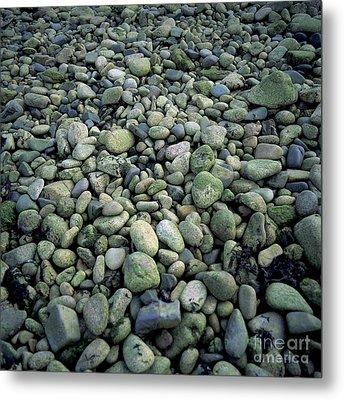 Pebbles Metal Print by Bernard Jaubert