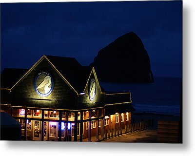 Pelican Pub Metal Print by Jerry Cahill