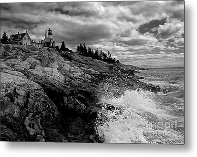 Pemaquid Point Lighthouse Metal Print by Keith Kapple