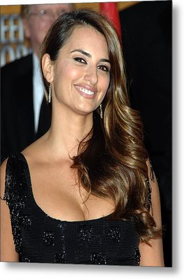 Penelope Cruz Wearing Yossi Harari Metal Print by Everett