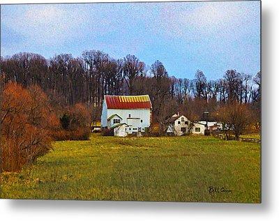 Pennsylvaina Farm Scene Metal Print by Bill Cannon