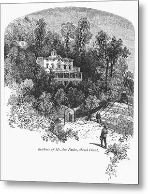 Pennsylvania: House, C1876 Metal Print by Granger