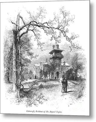 Pennsylvania: Mansion Metal Print by Granger