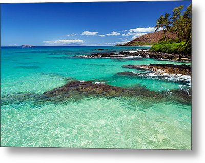 Perfect Day At Makena Metal Print
