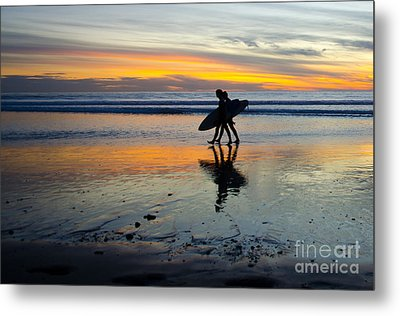 Perfect Day's End Metal Print by Athena Lin