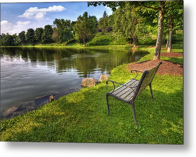 Perfect Spot To Rest Metal Print by Yelena Rozov