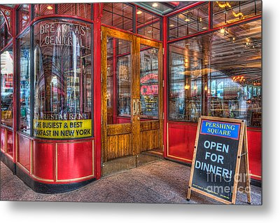 Pershing Square Central Cafe IIi Metal Print by Clarence Holmes