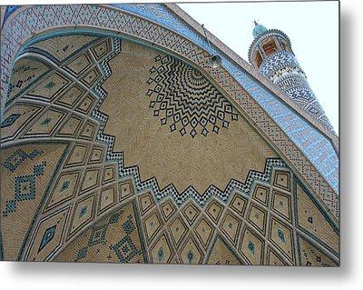 Persian Mosque Metal Print by Tia Anderson-Esguerra