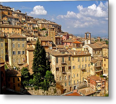 Perugia Italy - 01 Metal Print by Gregory Dyer