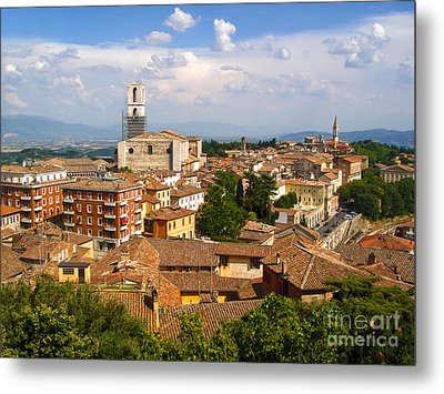 Perugia Italy - 02 Metal Print by Gregory Dyer