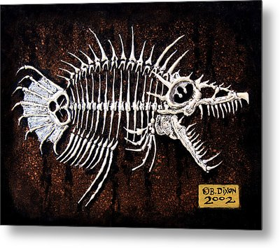 Pescado Dos Metal Print by Baron Dixon