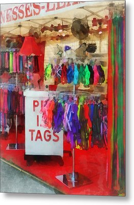 Pet Leashes And Harnesses For Sale Metal Print by Susan Savad