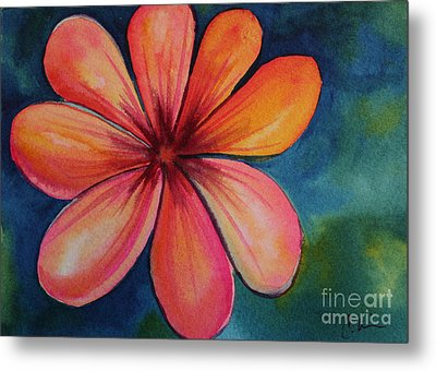 Petals Metal Print by Carolyn Weir