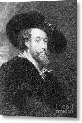 Peter Paul Rubens Metal Print by Granger