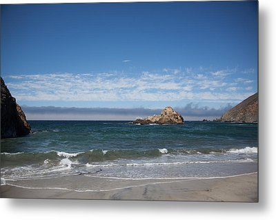 Pfeiffer Beach Metal Print by Ralf Kaiser